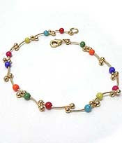 Colorful Beads Anklet