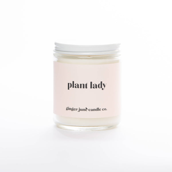 PLANT LADY SOY CANDLE | GARDENIA HONEYSUCKLE - Ginger June Candle Co.
