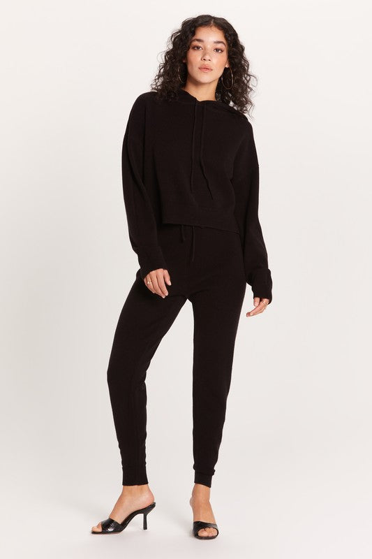 Camille Knit Hoodie & Highrise Jogger Lounge Set