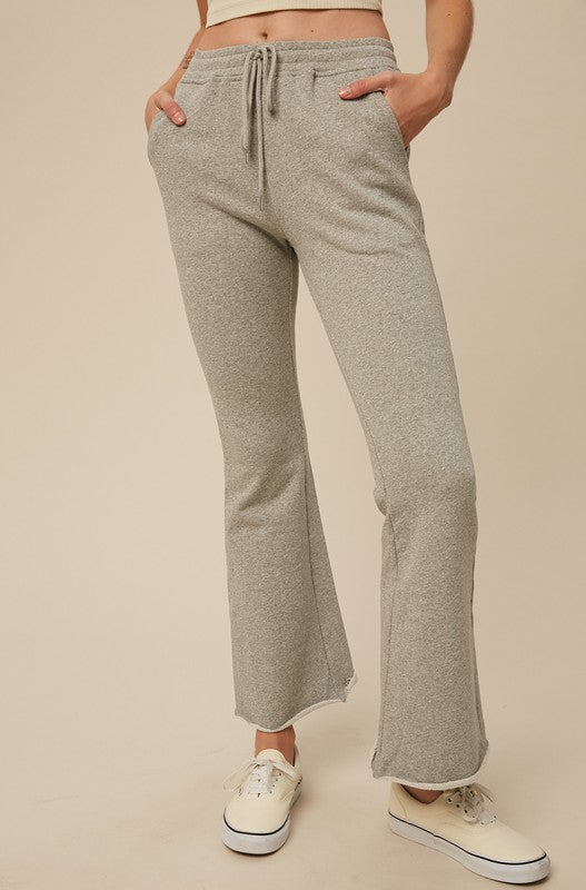 Laid Back Flair Sweat Pants | Heather Gray
