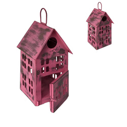 Wilco Home - Bird Salon Hanging Finch Birdhouse