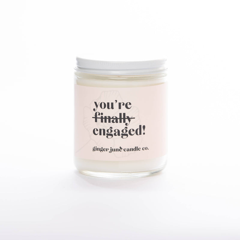 Ginger June Candle Co. - YOU'RE FINALLY ENGAGED • STANDARD BLACKBERRY AMBER CANDLE