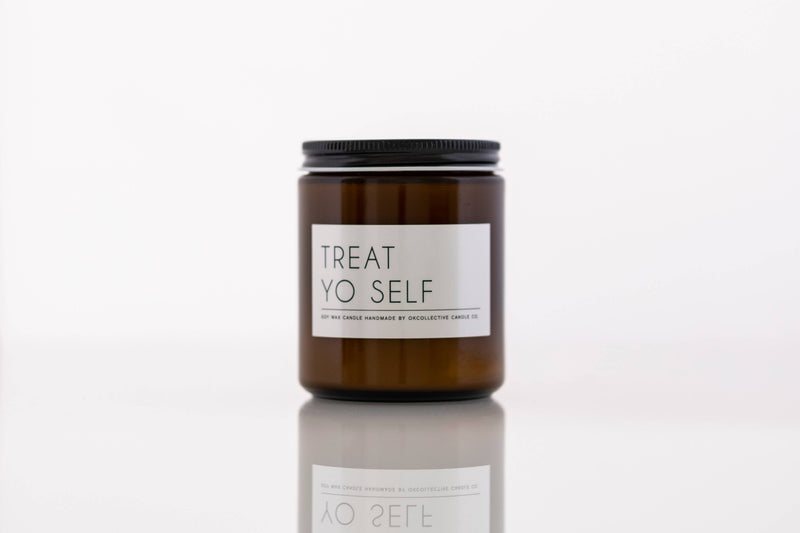 OKcollective Candle Co. - Candle // Treat Yo Self 8oz