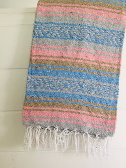 Sea Gypsy California - Snow Berry Fall Blanket l Mexican Blanket l Throw Blanket