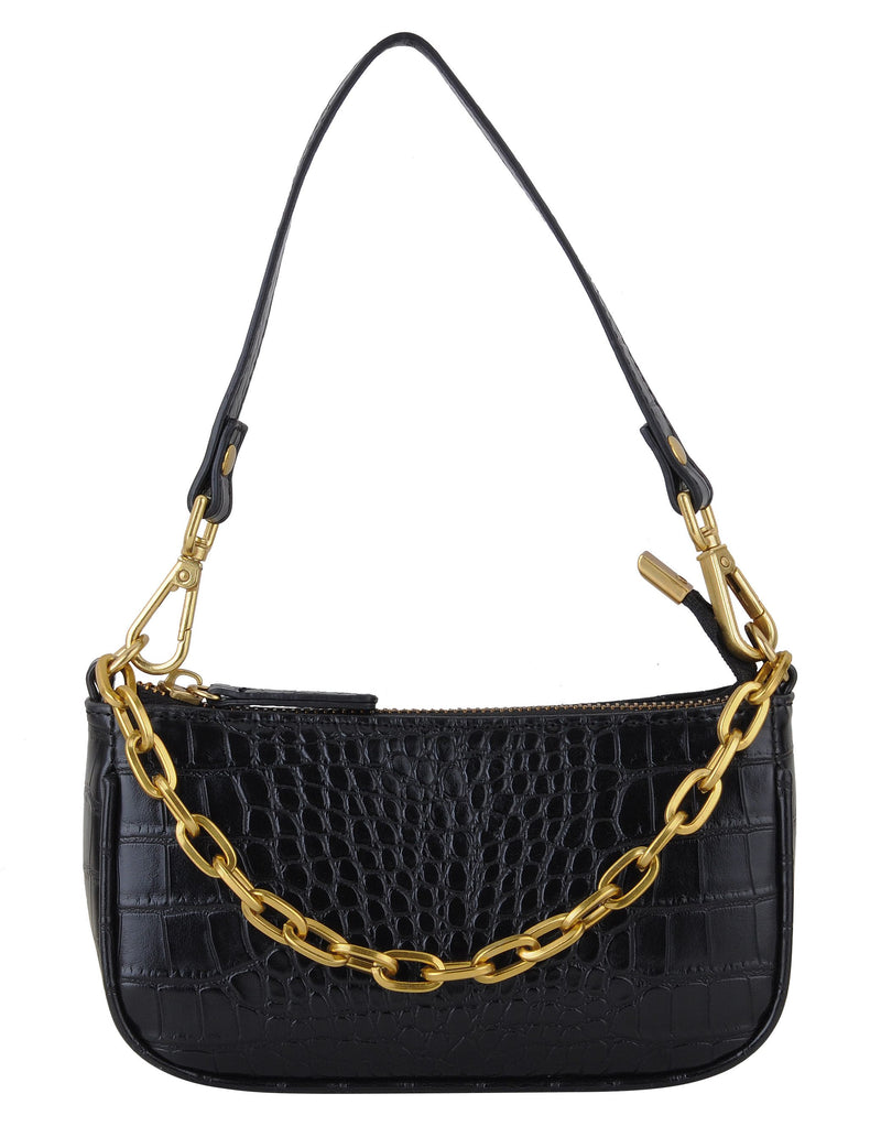 Mona Mini Croc Bag