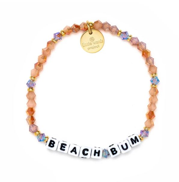 Beach Bum Bracelet - Little Words Project