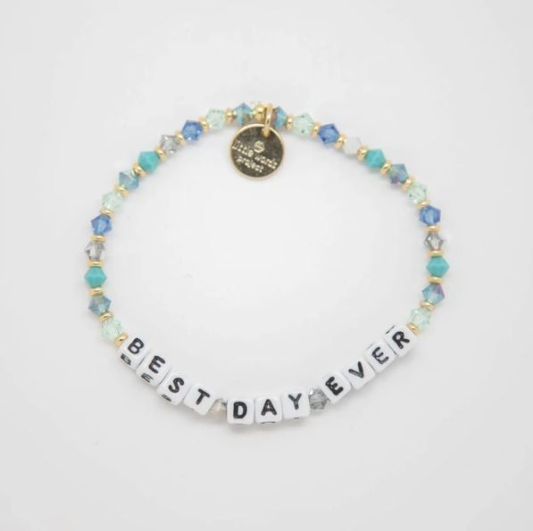 Best Day Ever Bracelet - Little Words Project