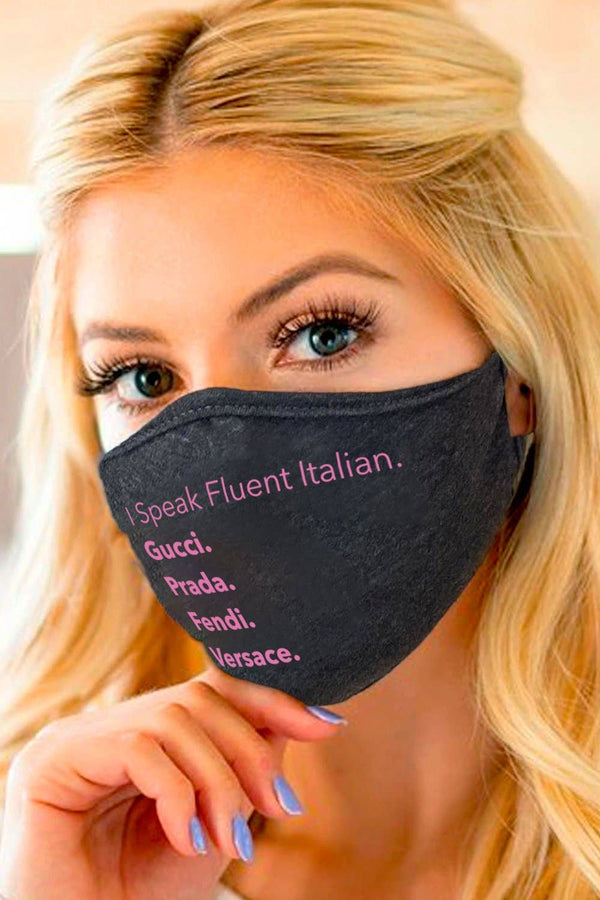 LA Trading Co | Fluent Italian Face Mask