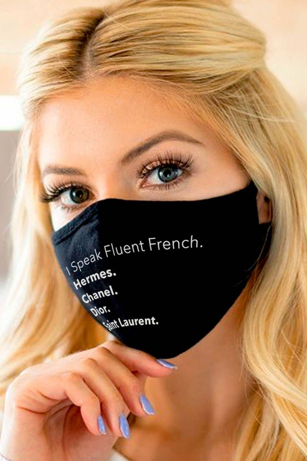 LA Trading Co | Fluent French Face Mask