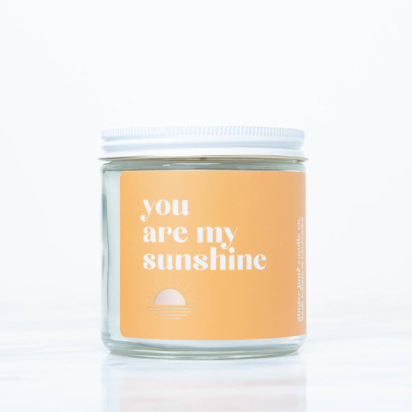YOU ARE MY SUNSHINE CANDLE | SUNSHINE - Ginger June Candle Co.