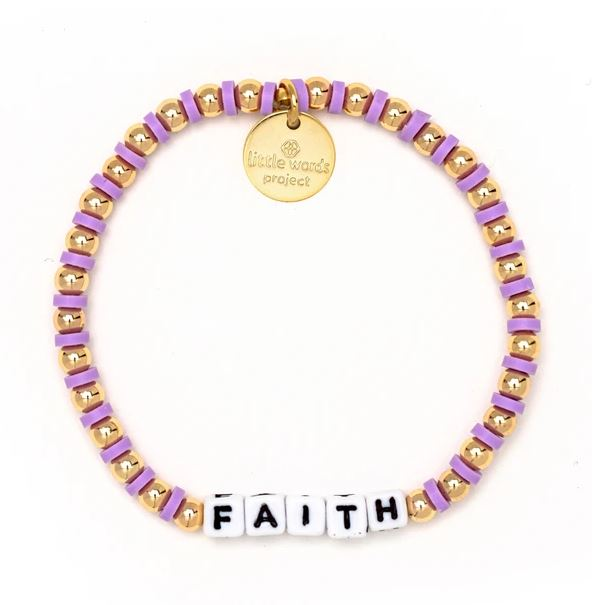 Faith Gold-Filled Bracelet - Little Words Project