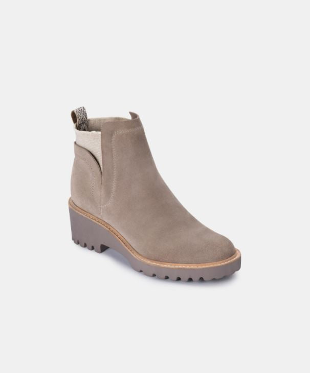 DOLCE VITA | HUEY BOOTIES IN ALMOND