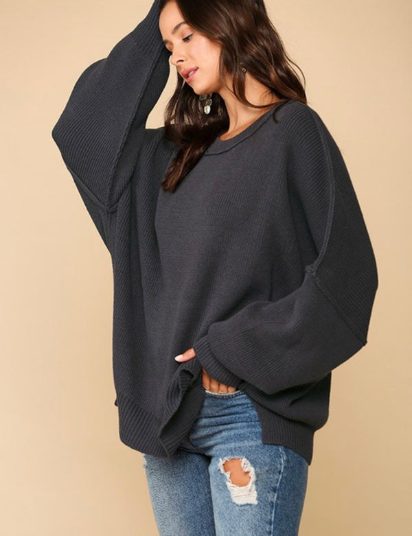Morgan Oversized Knit Sweater