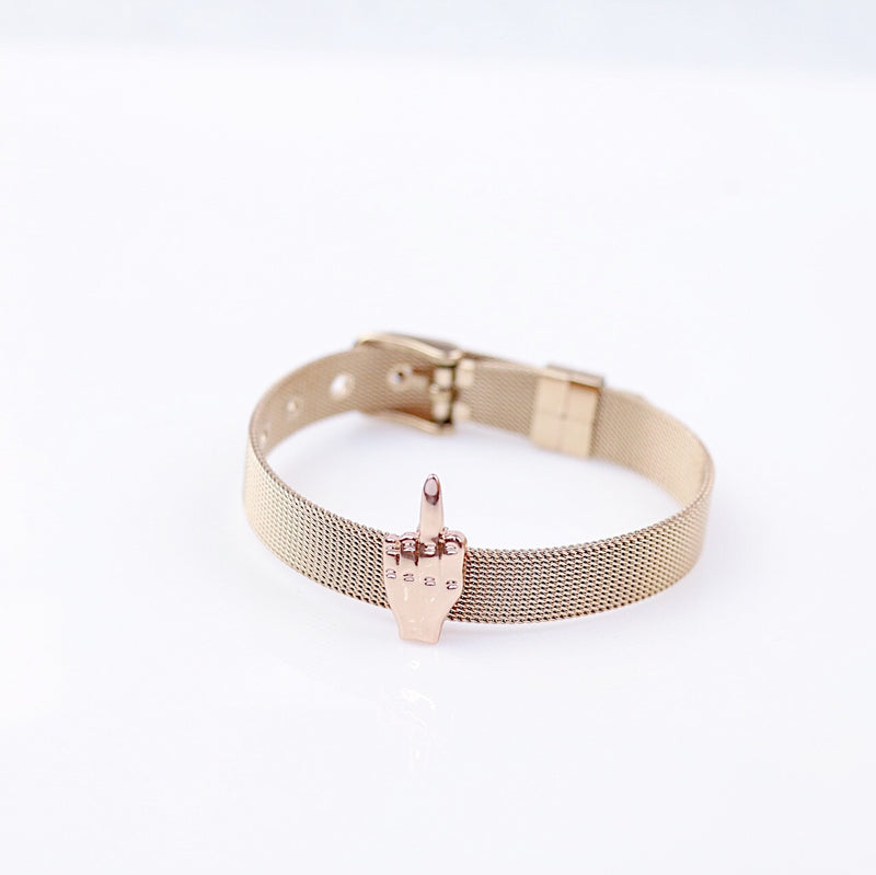 The FU Middle Finger Bracelet - amannequin - amannequin