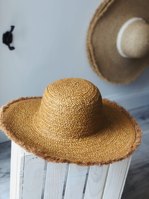 Bethany Straw Hat - Natural