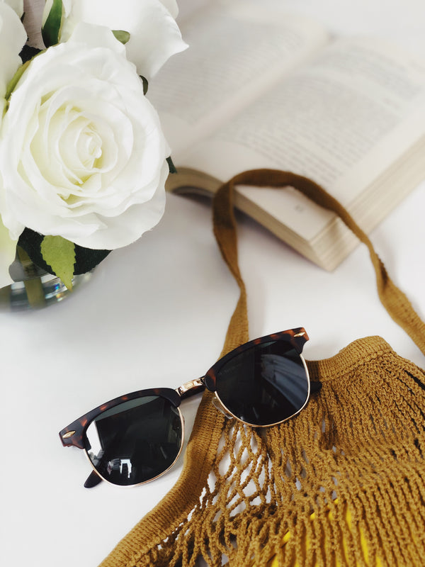 Gabby Matte Rust Brown Tortoise Retro Sunglasses by AJ Morgan-sunnies-aj morgan-AMQN Boutique