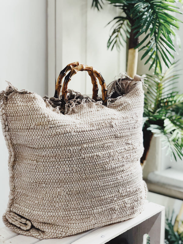 By The Sea Macrame Fringe Beach Bag | Womens | One Size | amannequin