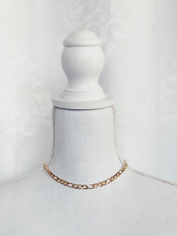 Clara Chain Necklace - Gold - amannequin - amannequin