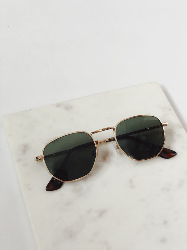 Indio Gold Aviator Sunglasses by AJ Morgan-sunnies-aj morgan-AMQN Boutique