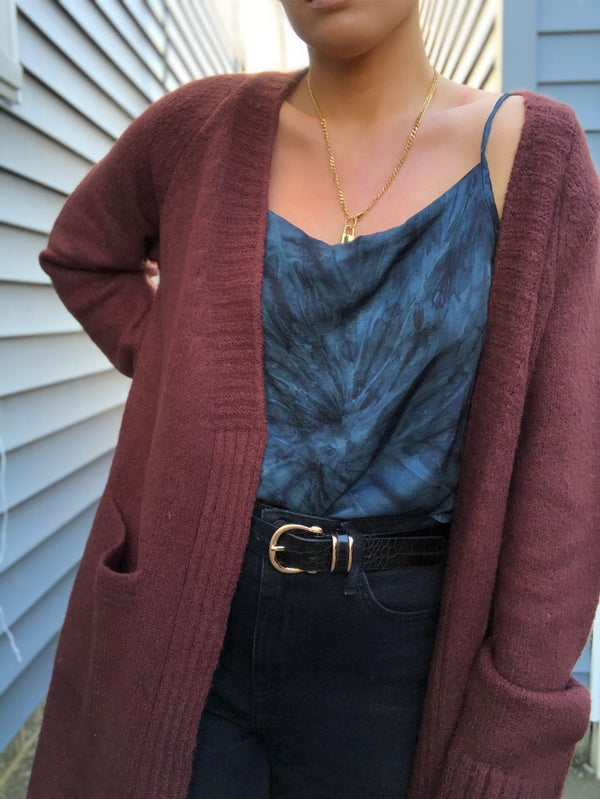 CATHERINE POCKETED CARDIGAN SWEATER
