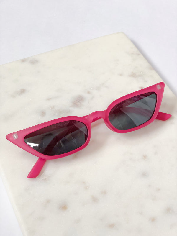 Royale Matte Pink Cat Eye Sunglasses by AJ Morgan-sunnies-aj morgan-AMQN Boutique