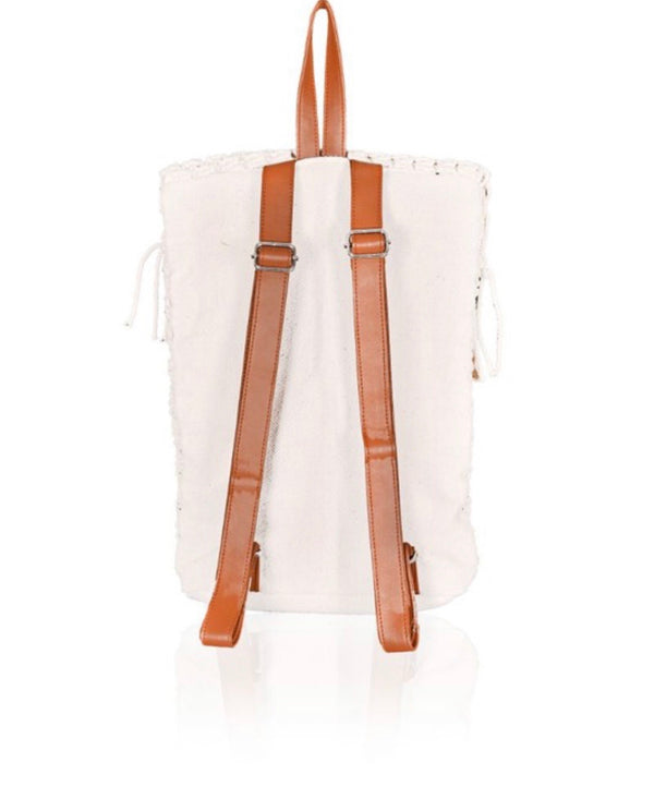 Neve Macrame Backpack