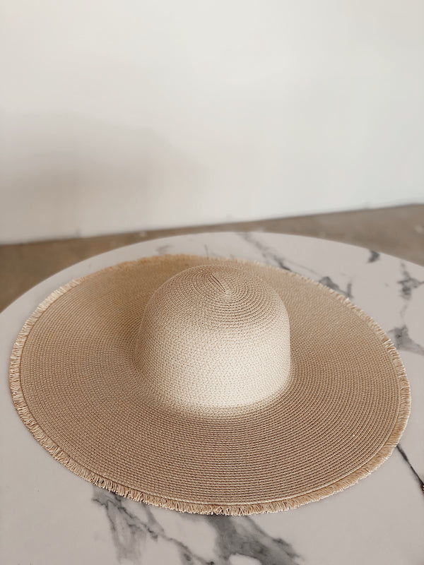 Nicolette Straw Hat - Natural
