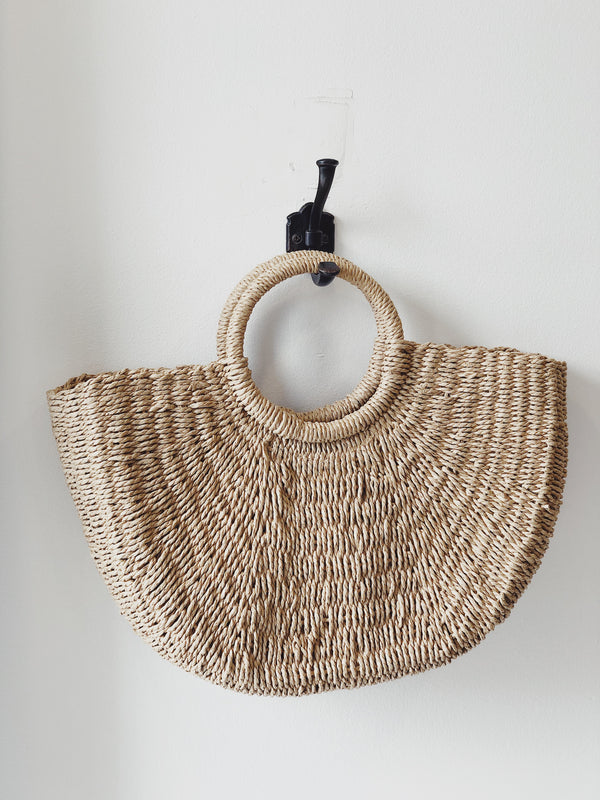 Frieda Straw Beach Tote