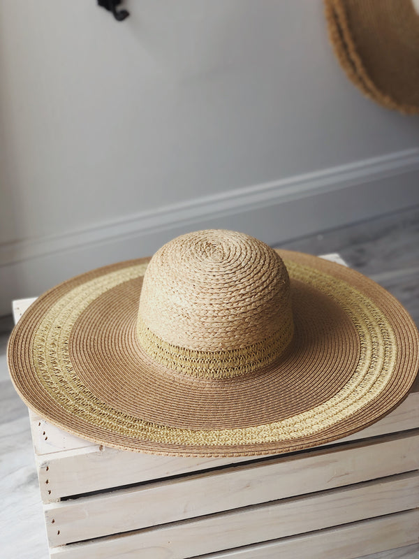 Carissa Straw Hat - Natural