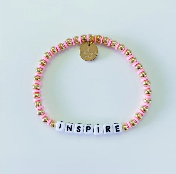Inspire Gold-Filled Bracelet - Little Words Project