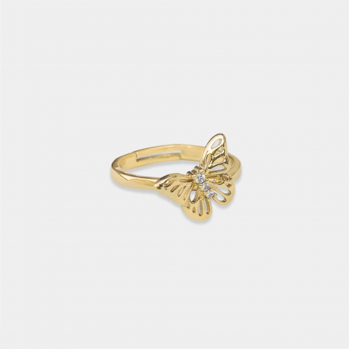 Patty Butterfly Ring | Gold