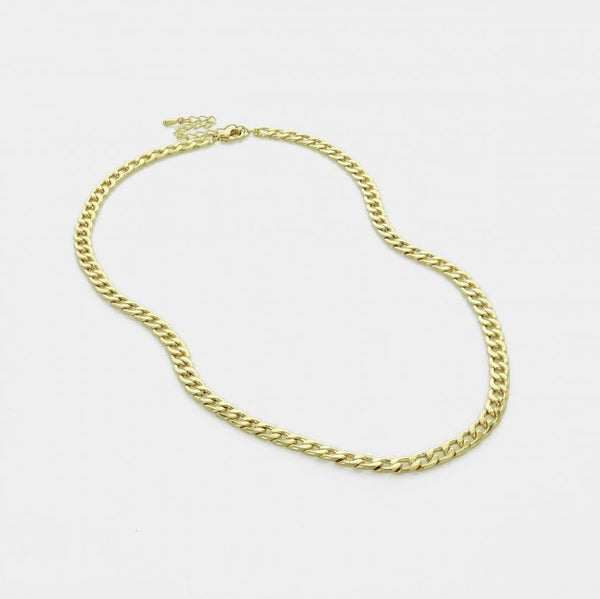 Kayla Chain Necklace - Gold