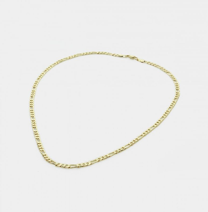 Scarlett Gold Figaro Necklace