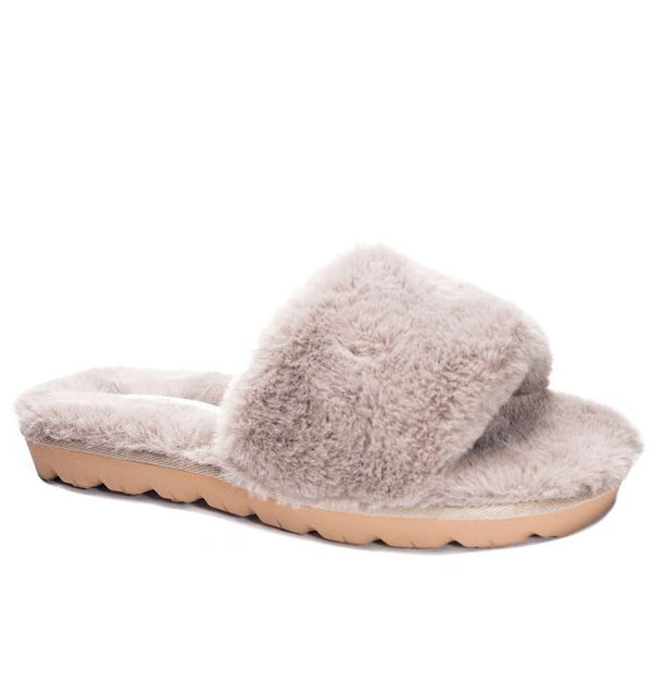 Chinese Laundry | Rally Faux Fur Slides
