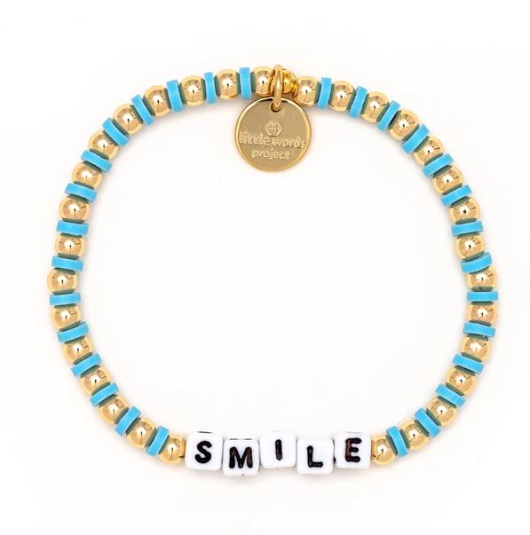 Smile Gold-Filled Bracelet - Little Words Project