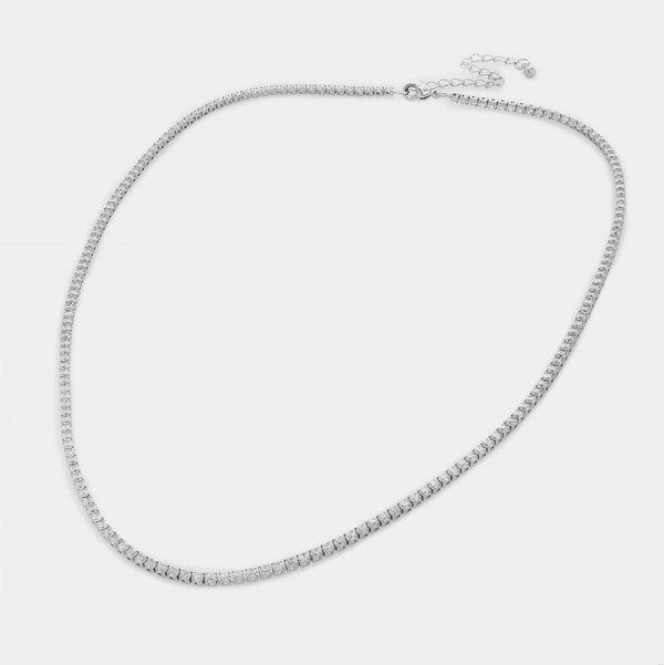 Sofia CZ Chain Link Necklace
