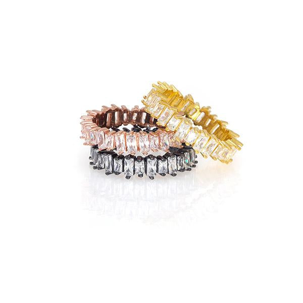 Baguette Stackable Ring | Anuja Tolia