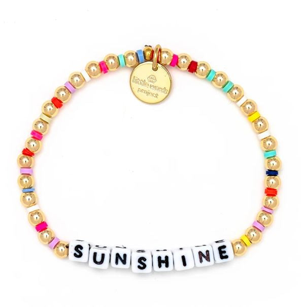 Sunshine Gold-Filled Bracelet - Little Words Project