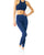Ashton Set - Sports Bra & Leggings - Navy Blue