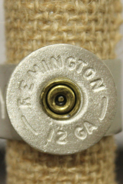 Silver Shotgun Shell Ring