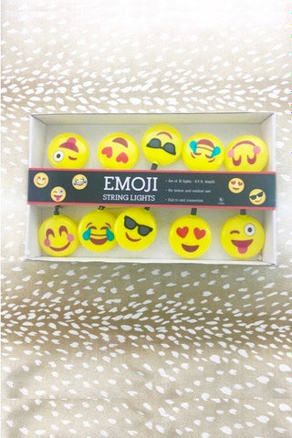 Emoji Party String Lights - Gifts