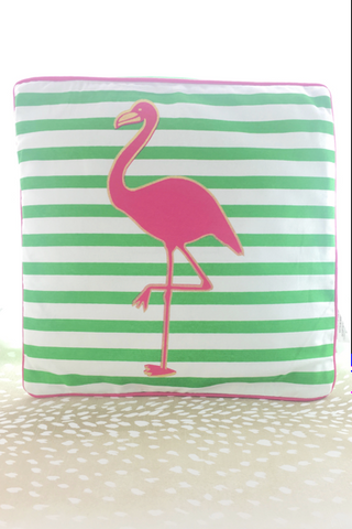 Tropical Flamingo Pillow