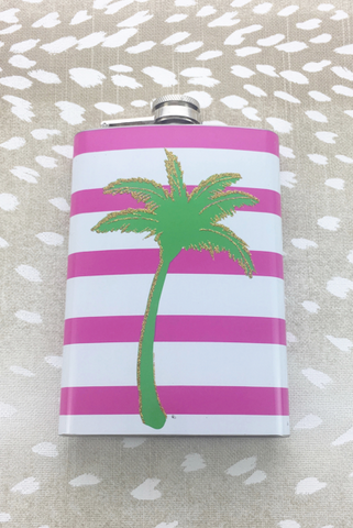 Palm Treet Flask - Gifts For Her