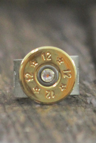 Wild Roses Boutique Shotgun Shell Ring