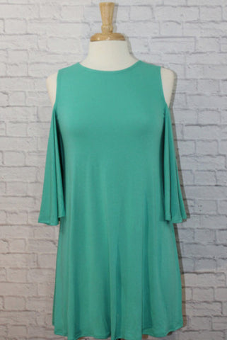 Teal Me A Secret Dress