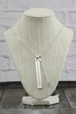 Silver Sadie Robertson Necklace