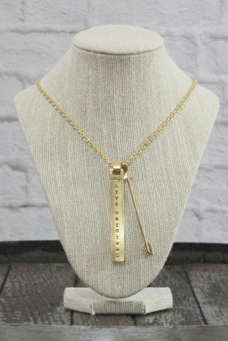 Gold Sadie Robertson Necklace