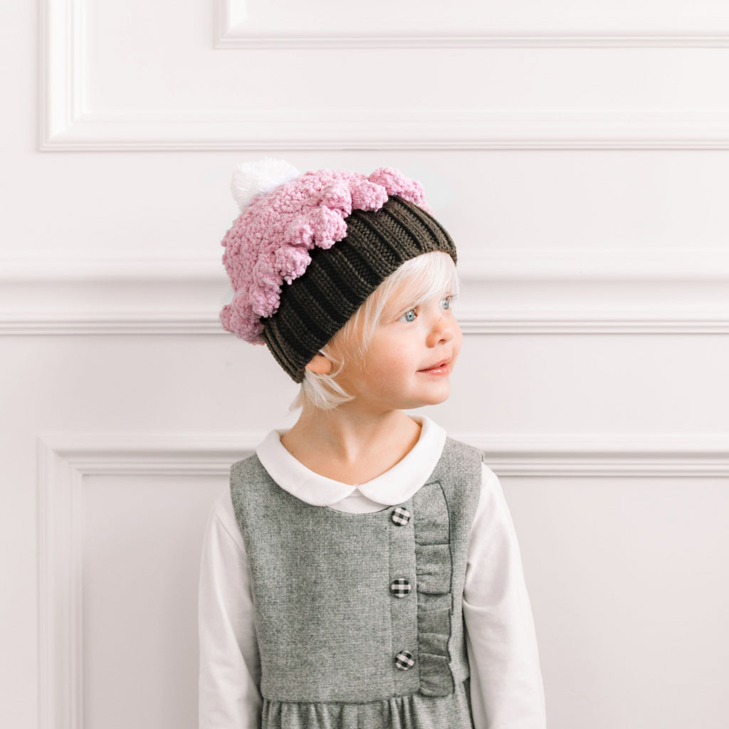Bella Cupcake Knit Hat – The Blueberry Hill b84ea677385