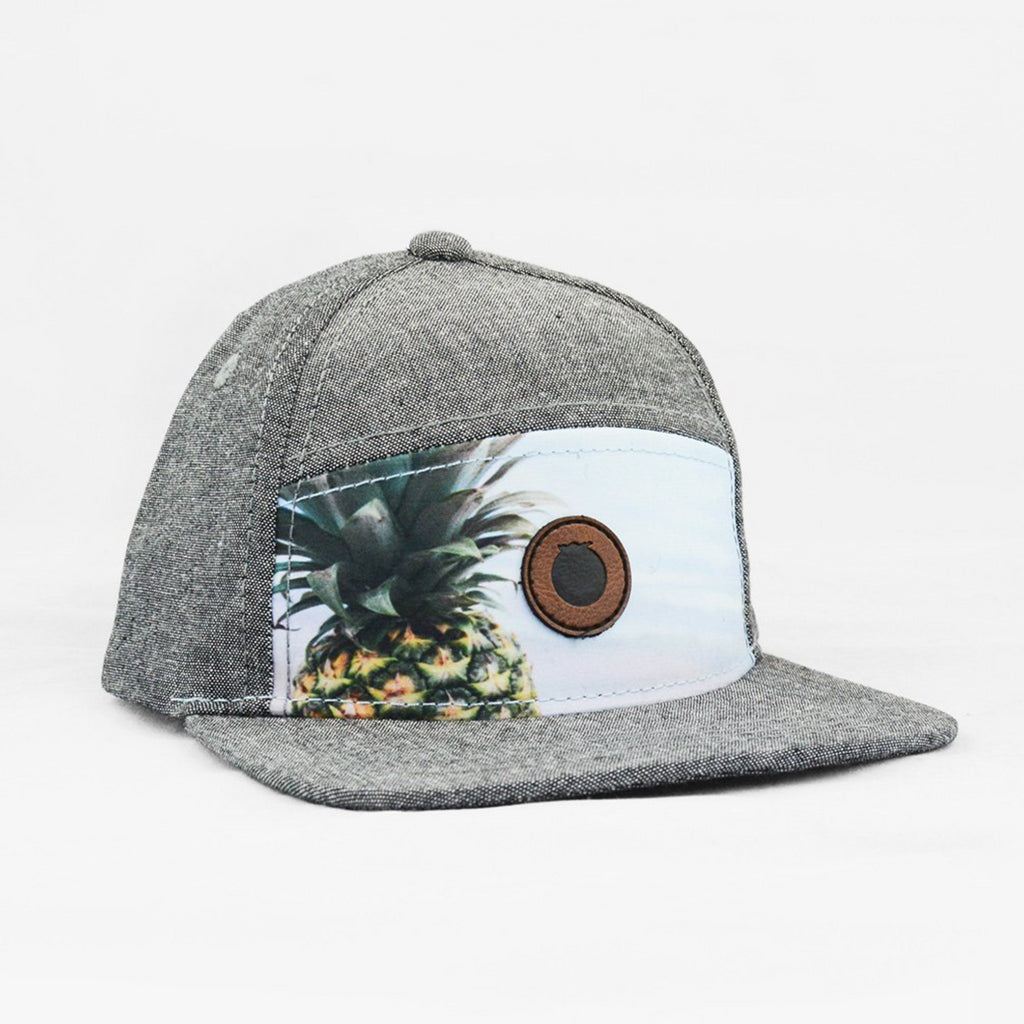 Grey snapback with pineapple image on front panel. Next 4566dfb43d5
