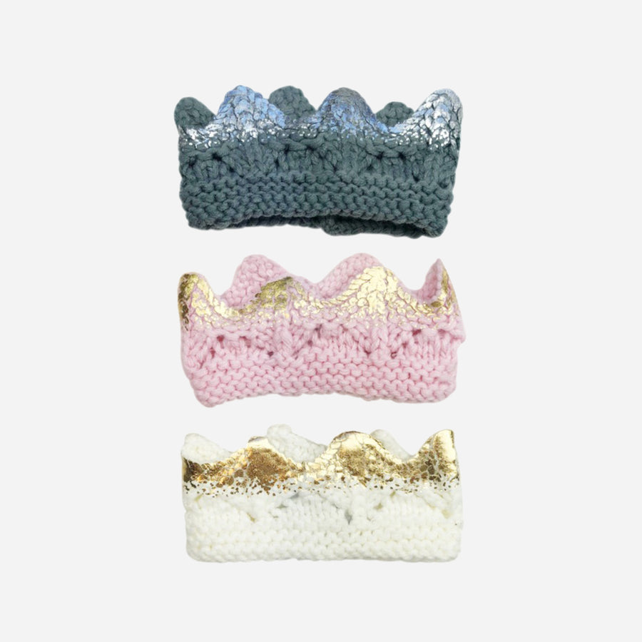 Aiden Hand-Knit Crown